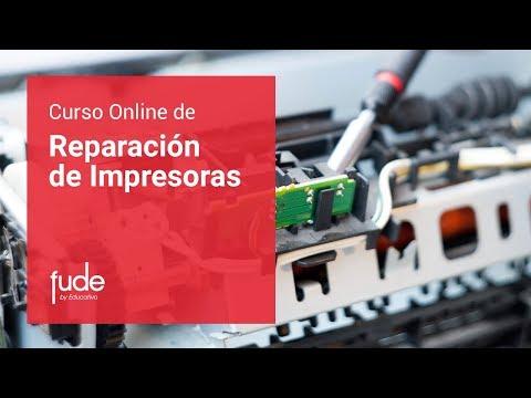 Curso online de Reparación de Impresoras | FUDE