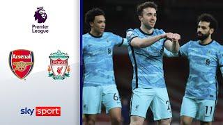 Joker Jota trifft doppelt! Reds sind zurück! | Arsenal - Liverpool 0:3 | Highlights - Premier League