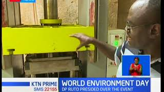 DP Ruto presides over the World Environment Day event in Kwale