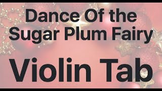 Learn Dance Of the Sugar Plum Fairy on Violin - How to Play Tutorial