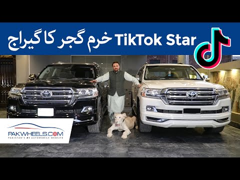 TikTok Star Khurram Gujjar's Garage | PakWheels