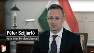 'Migration Is Not a Fundamental Human Right' -- Breitbart Interviews Hungarian FM Péter Szijjártó