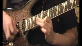 Chris Frank: Bach Violin Concert E-Major on Electric Guitar