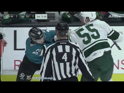 Cody McLeod vs Jeffrey Truchon-Viel