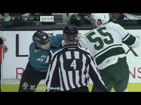 Cody McLeod vs Jeffrey Truchon-Viel