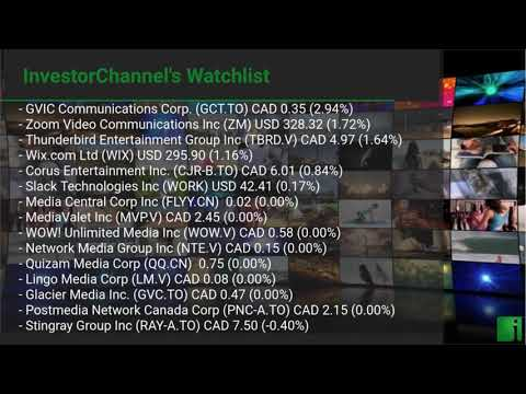 InvestorChannel's Media Watchlist Update for Thursday, Apr ... Thumbnail