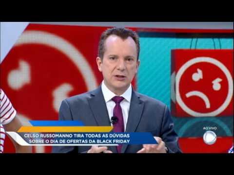 Celso Russomano ensina como garantir boas ofertas na Black Friday
