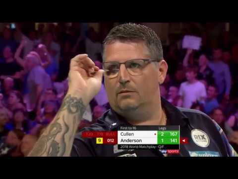 Amazing camera work for this dramatic darts moment.