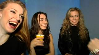 Miss Slovensko 2016 Finalists during the making of video Hello from Celeste Buckingham
