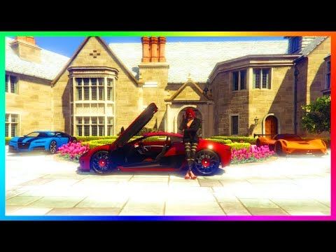 GTA Online Surprise Update & Hidden DLC QNA - Mansion Features, Fastest Super Car & MORE! (GTA 5)