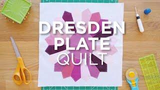Quilt Snips Mini Tutorial - Dresden Plate