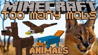 Minecraft Моды: В МИРЕ ЖИВОТНЫХ / TOO MANY MOBS
