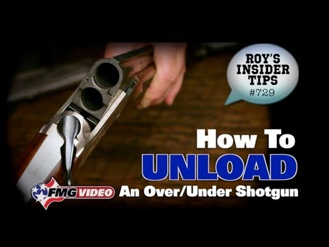 How To Unload An Over/Under Shotgun