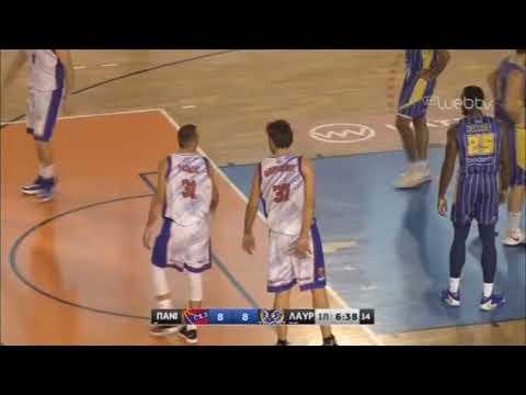 ΠΑΝΙΩΝΙΟΣ – ΛΑΥΡΙΟ | Basket League | 16/11/2019 | ΕΡΤ