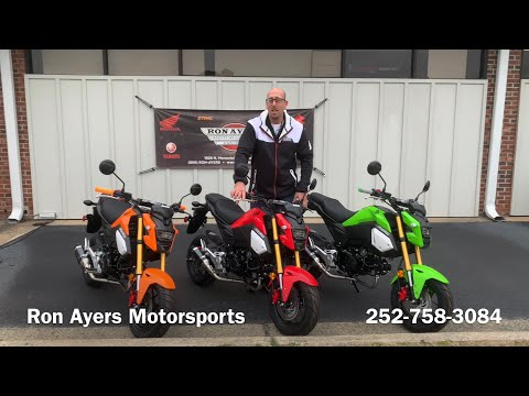 2020 Honda Grom in Greenville, North Carolina - Video 2