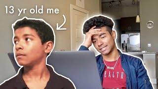 Reacting To My Old Videos | 1 Million Subscribers