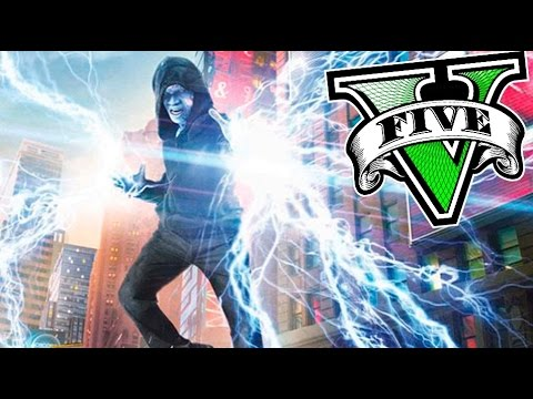 GTA 5 MOD HOMBRE ELECTRICO  !! ELECTRIC MAN NUEVO SUPER HEROE GTA V MODS Makiman