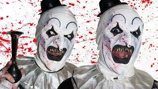 Art The Clown! TERRIFIER - Makeup Tutorial!