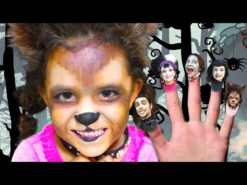 Finger Family Halloween Song | Kids Halloween Songs