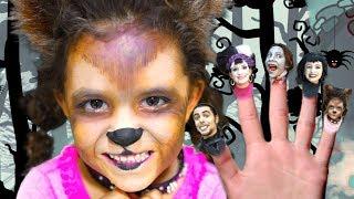 Finger Family Halloween Song | Kids Halloween Songs