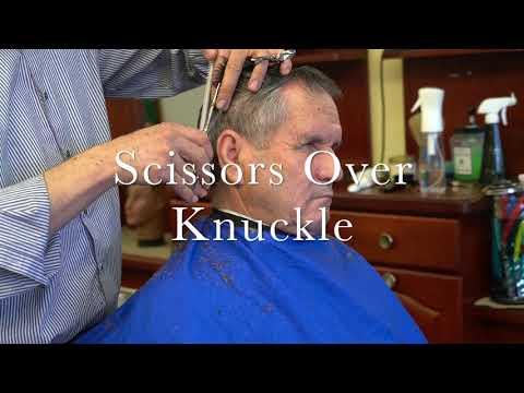 Men's Scissor Haircut Tutorial