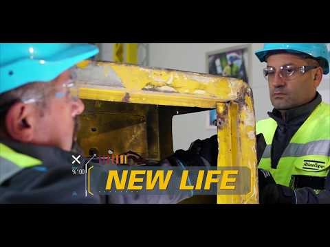Atlas Copco Refurbishment Program for Portable Compressors - zdjęcie