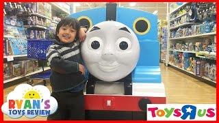 "TOYS ""R"" US Shopping Thomas and Friends, Batman vs. Superman, toy cars matchbox ,Sand Box, legos!"