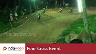 International Four Cross race at Kovalam, MTB-Kerala