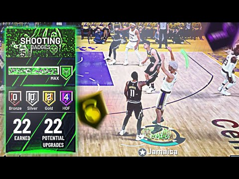 Get ALL your Shooting badges in 1 day No Glitch   After patch   Tutorial NBA 2k20