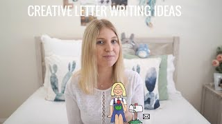 How to write a CREATIVE penpal letter ✏️ 📃 ✉