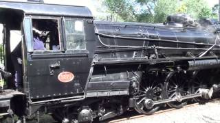 preview picture of video 'Ja 1271 steam loco Takapu Road 1 Dec 2013'