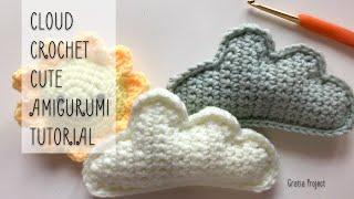 Cloud Crochet Cute Amigurumi Pattern