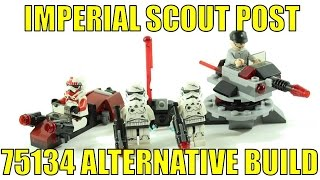 LEGO STAR WARS 75134 ALTERNATIVE BUILD IMPERIAL SCOUT POST