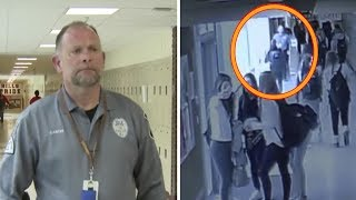 A School Security Officer Saw a Girl Acting Oddly – and He Knew He Had to Intervene Fast