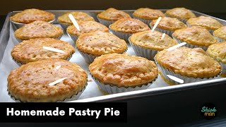 How to make comfort food Chicken Pie with Homemade Shortcrust Pastry