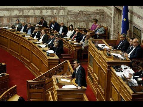 Πρωτολογία στη συζήτηση για την ελληνική οικονομία