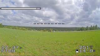 Мой первый FPV полет на FOXEER RAZER