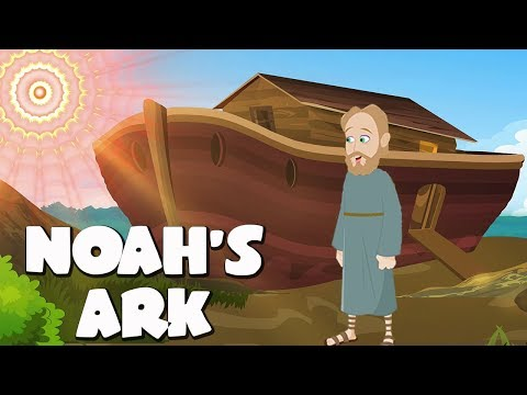 Download Noah's Ark Bible Story For Kids - ( Children Christian Bible Cartoon Movie )| The Bible's True Story HD Mp4 3GP Video and MP3