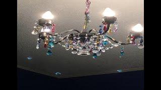 Chandelier Makeover DIY Tips - My Gypsy Style
