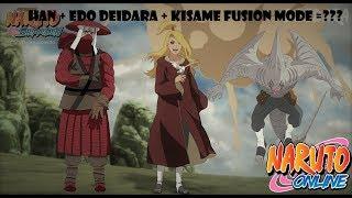 Наруто онлайн - Приключения в связке[Han, Roshi & Edo Deidara Kisame Fusion mode]