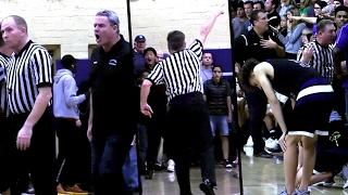 Jaylen Hands Playoff Game Ends in CHAOS! Coach EJECTED! Foothills Christian v St Augustine