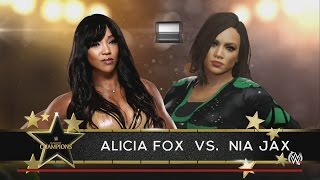 WWE Clash Of Champions Pre-Show Kickoff 2016 Predictions Alicia Fox vs Nia Jax