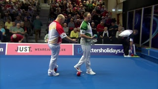 Just. 2019 World Indoor Bowls Championships: Day 12 Session 1