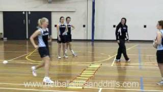 Netball Skills And Drills - Level 2 Ladder Drills