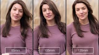 Sony Prime Portrait Lens Comparison: 85mm - 135mm