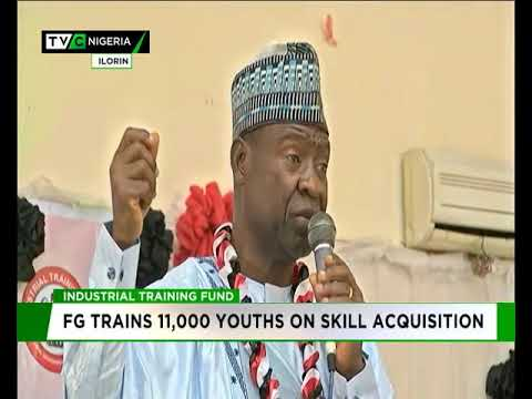 FG trains 11,000 youths on skill acquisition