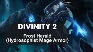 Frost Herald Hydrosophist Mage Armor