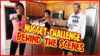 THE GUESS THAT NUGGET CHALLENGE BEHIND THE SCENES! | Daily Dose S2Ep285
