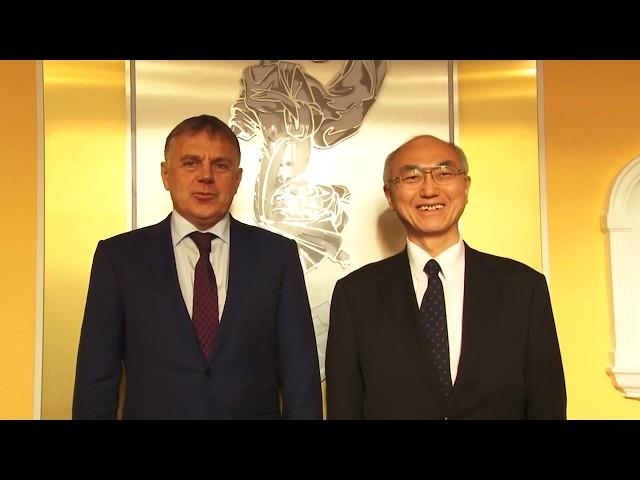 Консул Японии посетил Ангарск