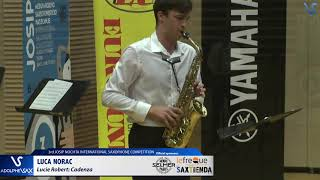 Luca Norac plays Cadenza by Lucie Robert